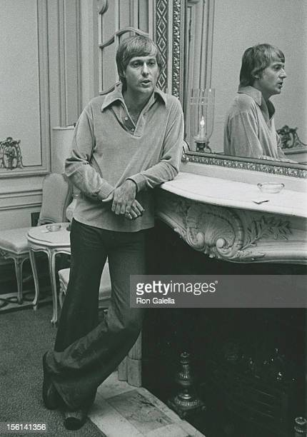 Singer Jack Jones attends Jack Jones Opening on October 1 1975 at the Persian Room in New York City