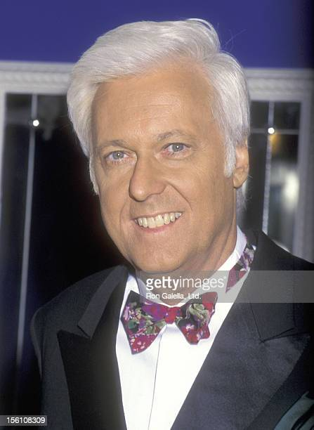 Singer Jack Jones attends the Taping of the PBS Television Special 'The Great Love Songs' on June 14 1995 at The Supper Club in New York City
