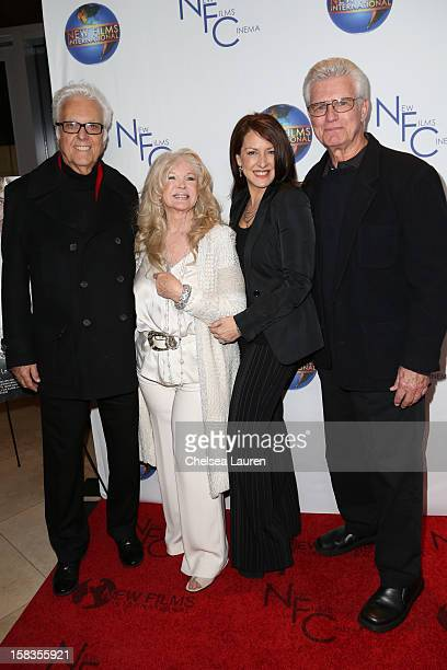 Singer Jack Jones director Connie Stevens actress Joely Fisher and actor Kent McCord attend the screening of 'Saving Grace B Jones' at ICM Screening...