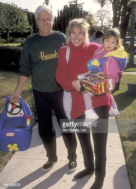 Singer Jack Jones wife Kim Ely and daughter Nicole Jones attends the Second Annual Toys for Toys Fundraiser for The Salvation Army at the Home of...