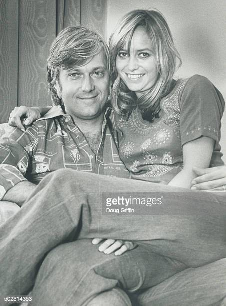 Singer Jack Jones with his current companion actress Susan George