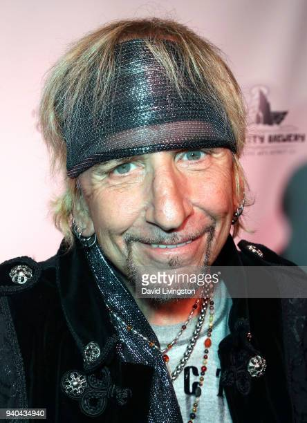 Singer Jack Russell attends the 6th Annual Rock Against MS benefit concert and award show at the Los Angeles Theatre on March 31 2018 in Los Angeles...