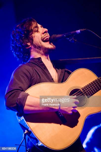 Singer Jack Savoretti performs live during a concert at the Columbia Theater on February 7 2017 in Berlin Germany