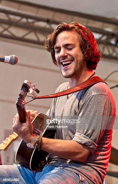 Singer Jack Savoretti performs live during a concert at the Radio Eins Parkfest on August 28 2015 in Berlin Germany