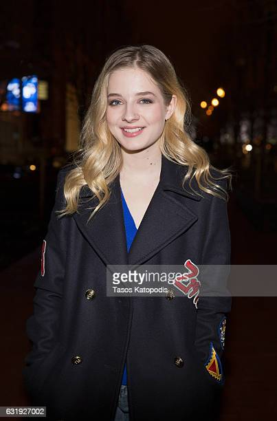 Singer Jackie Evancho arrives for dinner at Farmers Distillers on January 17 2017 in Washington DC The former America's Got Talent contestant will...