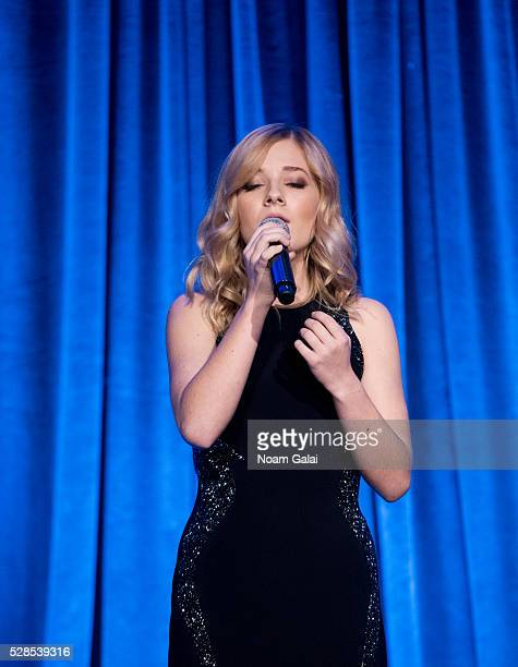 Singer Jackie Evancho performs during Project Sunshine's 13th annual benefit celebration on May 05 2016 in New York New York