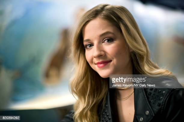 Singer Jackie Evancho photographed for NY Daily News on April 4 2017 in New York City