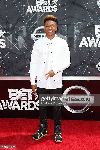 Singer Jacob Latimore attends the 2015 BET Awards at the Microsoft Theater on June 28 2015 in Los Angeles California