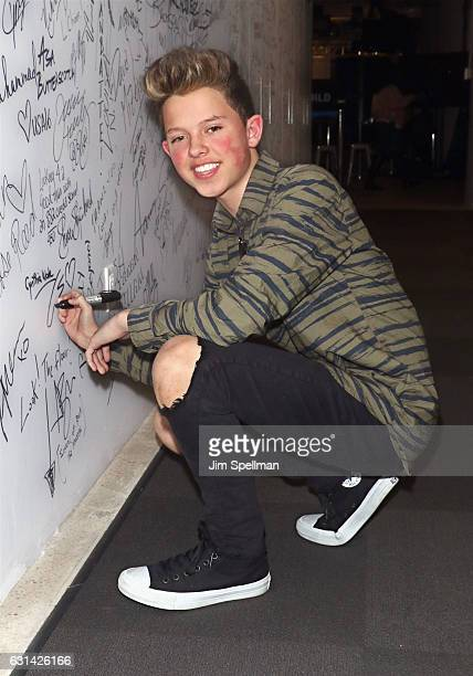 Singer Jacob Sartorius attends the Build series to discuss The Last Text World Tour at AOL HQ on January 10 2017 in New York City