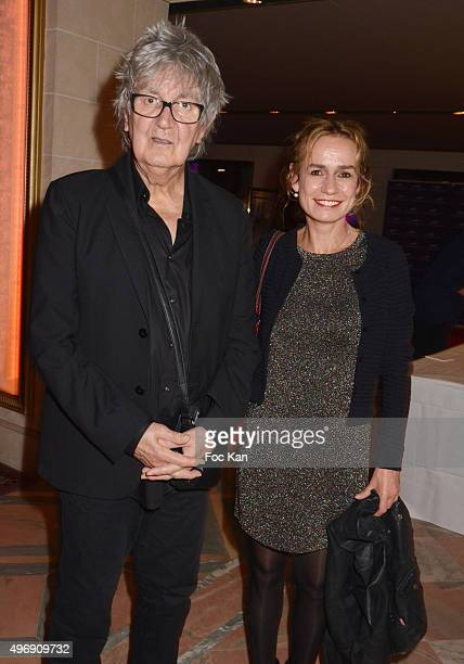 Singer Jacques Higelin and actress Sandrine Bonnaire attend the 'Cinema Et Musique De Film' Festival At La Baule Day Two At Hotel Hermitage Barriere...