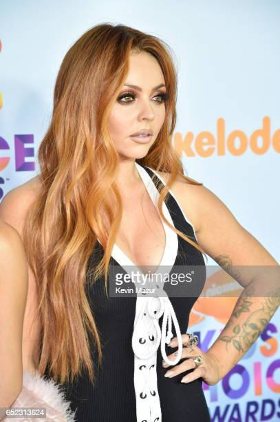 Singer Jade Thirlwall of Little Mix at Nickelodeon's 2017 Kids' Choice Awards at USC Galen Center on March 11 2017 in Los Angeles California