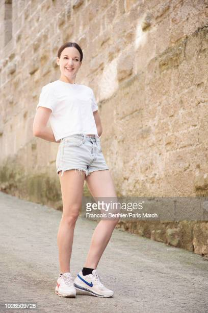 Singer Jain aka Jeanne Galice is photographed for Paris Match in Carcassonne France on July 19 2018