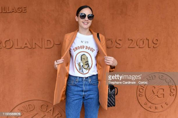 Singer Jain attend the 2019 French Tennis Open Day Eight at Roland Garros on June 03 2019 in Paris France