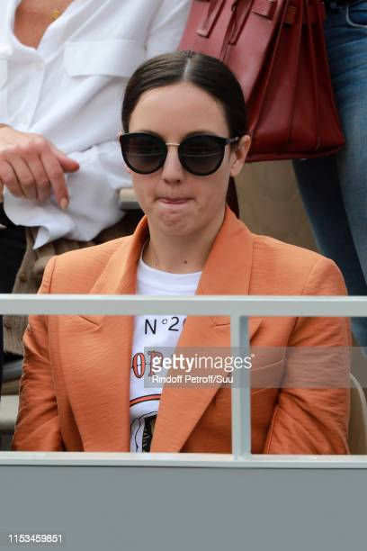 Singer Jain attend the 2019 French Tennis Open Day Nine at Roland Garros on June 03 2019 in Paris France