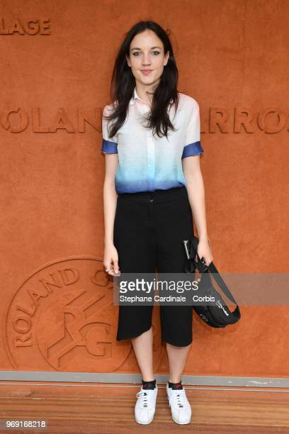 Singer Jain attends the 2018 French Open Day Twelve at Roland Garros on June 7 2018 in Paris France