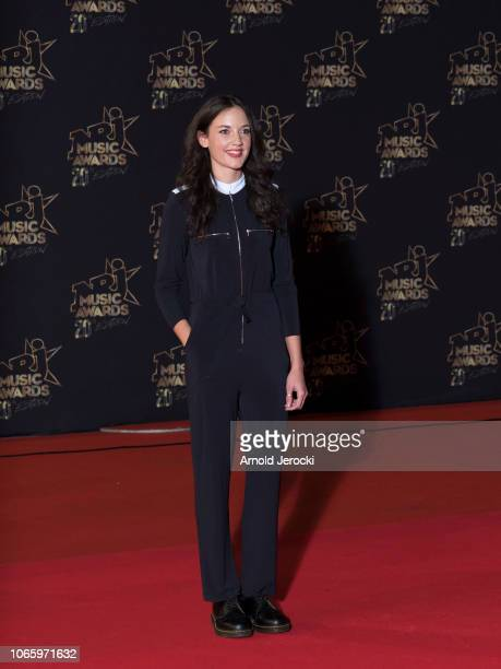 Singer Jain attends the 20th NRJ Music Awards at Palais des Festivals on November 10 2018 in Cannes France