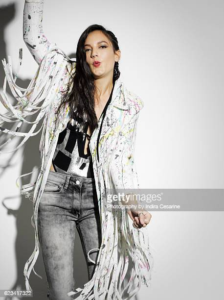 Singer Jain is photographed for The Untitled Magazine on October 12 2016 in New York City PUBLISHED IMAGE CREDIT MUST READ Indira Cesarine/The...