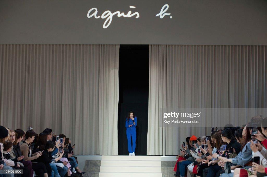 Agnes B : Runway - Paris Fashion Week Womenswear Spring/Summer 2019 : ニュース写真