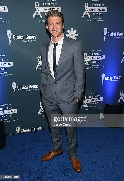 Singer Jake Barker attends the Global Genes Tribute to Champions of Hope 2016 on September 24 2016 in Huntington Beach California