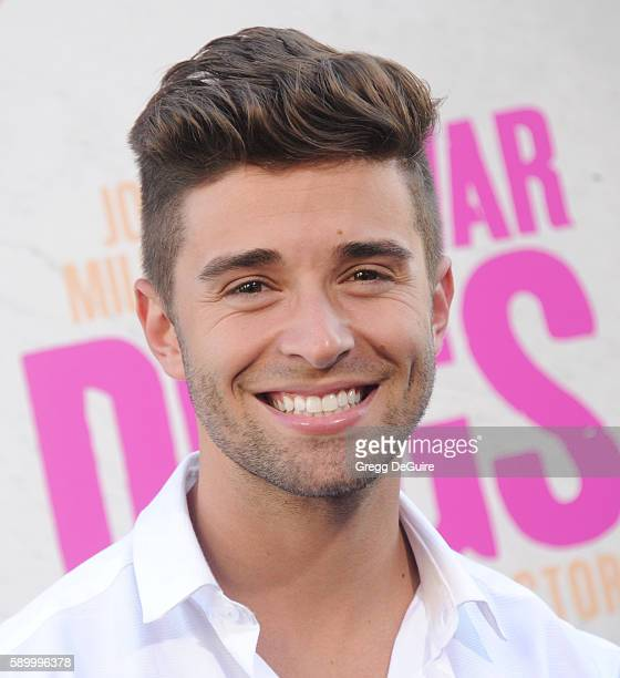 Singer Jake Miller arrives at the premiere of Warner Bros Pictures' 'War Dogs' at TCL Chinese Theatre on August 15 2016 in Hollywood California