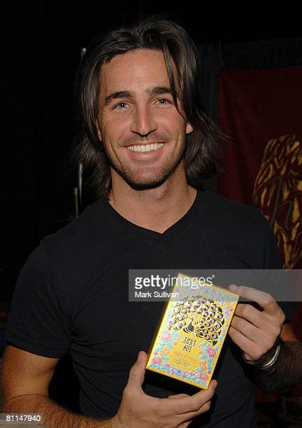 Singer Jake Owen in Backstage Creations poses at the 2008 Academy of Country Music Awards held on May 18 2008 in Las Vegas Nevada