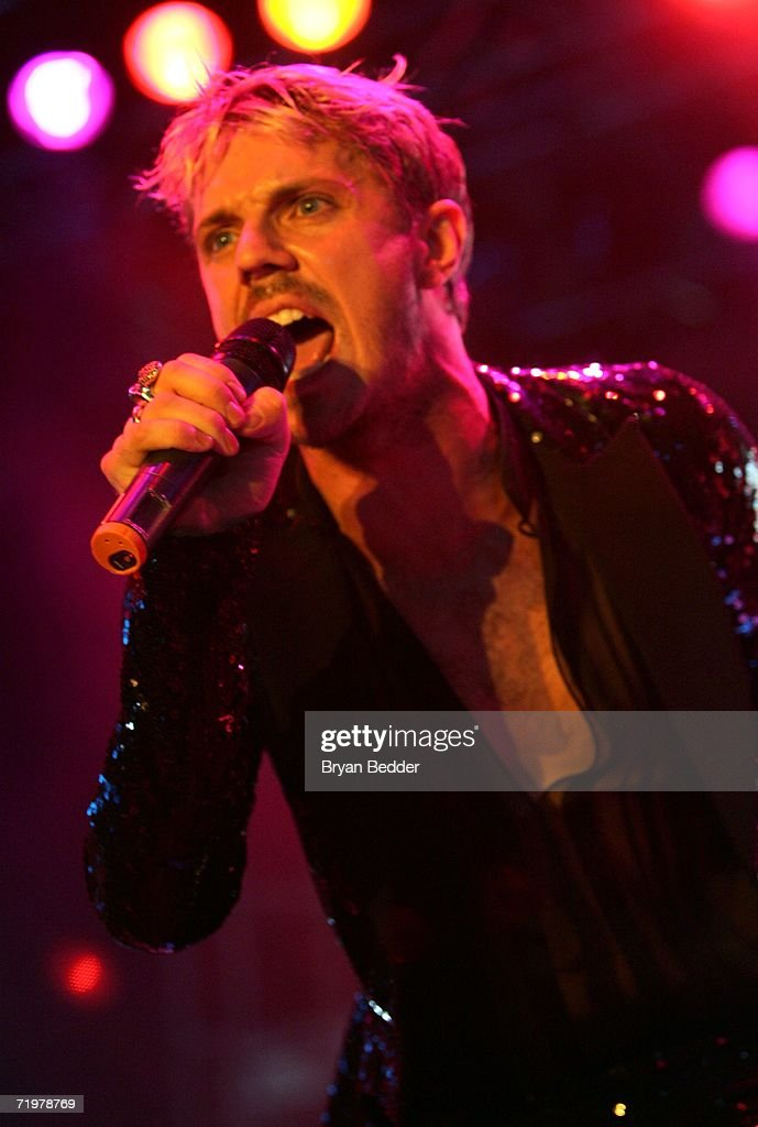 Singer Jake Shears of Scissor Sisters performs onstage at the Virgin Festival by Virgin Mobile at Pimlico Race Course on September 23, 2006 in Baltimore, Maryland.