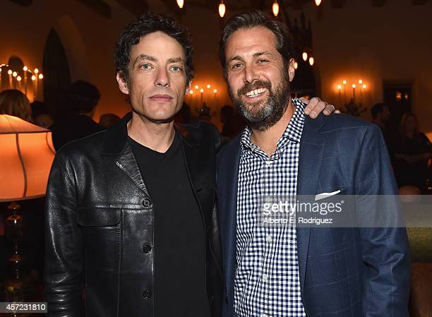 Singer Jakob Dylan and author Mark Bailey attend the publication celebration of Mark Bailey and Ed Hemingway's Of All The Gin Joints Stumbling...