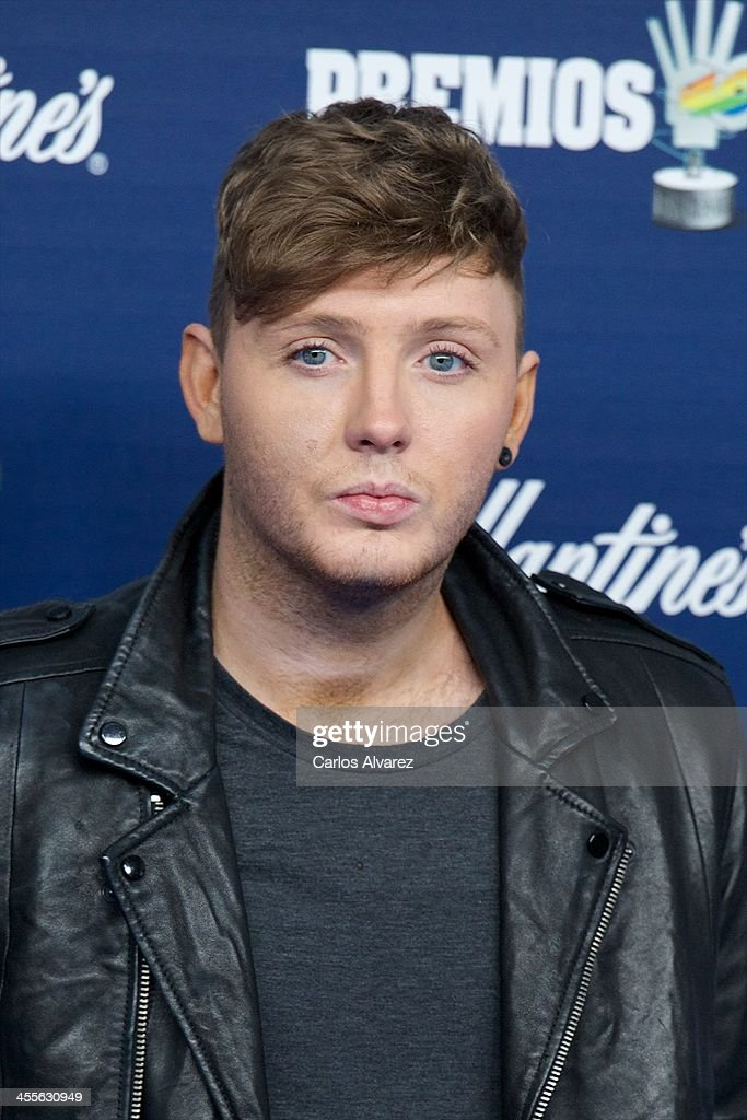 Singer James Arthur attends the '40 Principales Awards' 2013 photocall at Palacio de los Deportes on December 12, 2013 in Madrid, Spain.