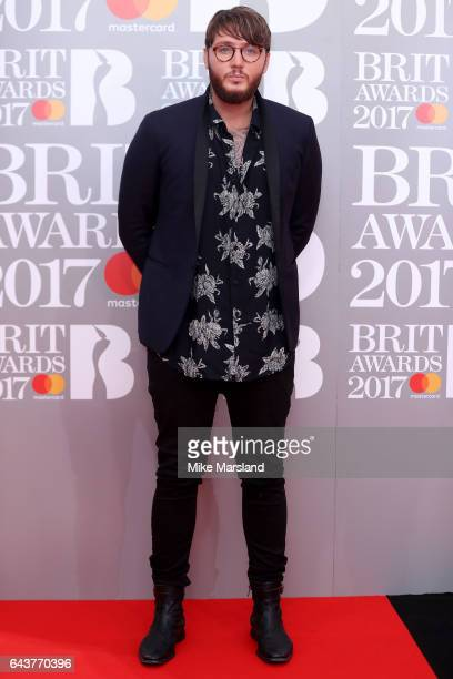 Singer James Arthur attends The BRIT Awards 2017 at The O2 Arena on February 22, 2017 in London, England.