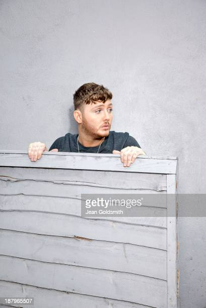 Singer James Arthur is photographed for the Independent on September 10 2013 in London England
