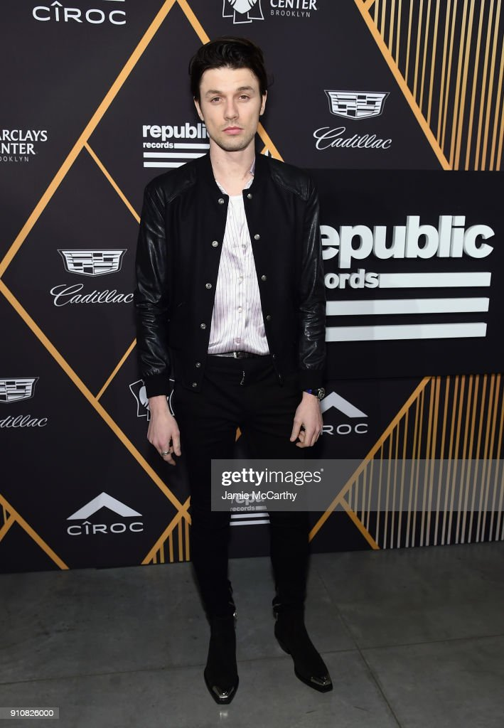 Singer James Bay attends Republic Records Celebrates the GRAMMY Awards in Partnership with Cadillac, Ciroc and Barclays Center at Cadillac House on January 26, 2018 in New York City.