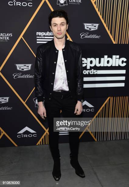 Singer James Bay attends Republic Records Celebrates the GRAMMY Awards in Partnership with Cadillac Ciroc and Barclays Center at Cadillac House on...