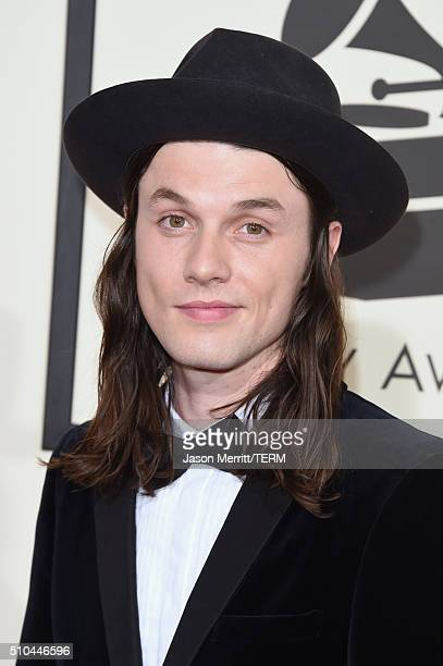 Singer James Bay attends The 58th GRAMMY Awards at Staples Center on February 15 2016 in Los Angeles California