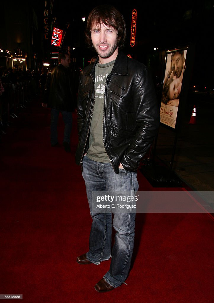 Singer James Blunt arrives at the premiere of Warner Bros.' 'P.S. I Love You' held at Grauman's Chinese Theater on December 9, 2007 in Los Angeles, California.