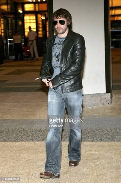 Singer James Blunt departs MTV's 'TRL' on September 18 at MTV Studios in New York City