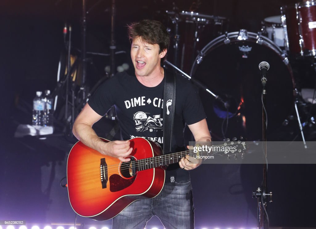 James Blunt Performs In Taipei : News Photo