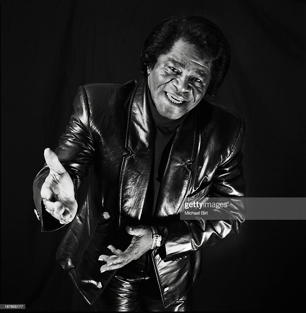 James Brown, Portrait shoot, June 15, 1998