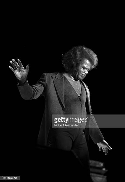 Singer James Brown performs in Orlando Florida in 1986 5104602RA_Alexander06jpg