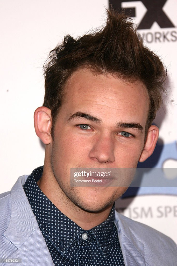 Singer James Durbin attends the Autism Speaks 3rd annual 'Blue Jean Ball' held at Boulevard3 on October 24, 2013 in Hollywood, California.