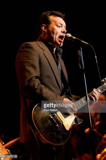 Singer James Hunter performs at Park West auditorium Chicago Illinois November 20 2008