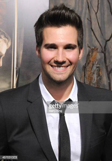 Singer James Maslow attends the premiere of 'The Hobbit The Desolation Of Smaug' on December 2 2013 at TCL Chinese Theatre in Hollywood California