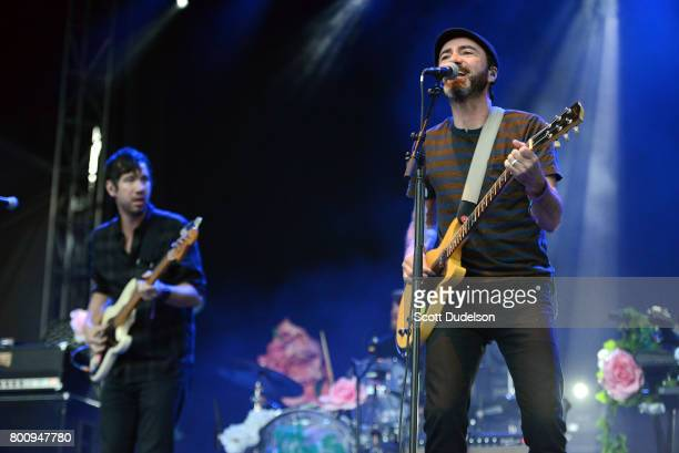 Singer James Mercer of The Shins and Broken Bells performs onstage during Arroyo Seco Weekend at Brookside Golf Course on June 25 2017 in Pasadena...