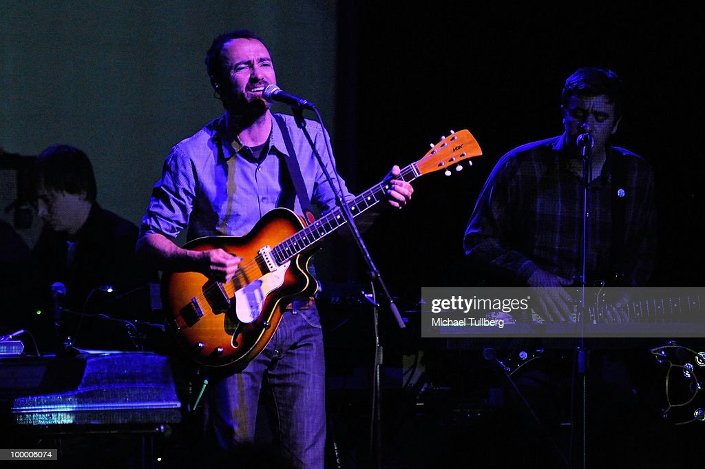 Singer James Mercer performs with his group Broken Bells at the Henry Fonda Theater on May 19, 2010 in Los Angeles, California.