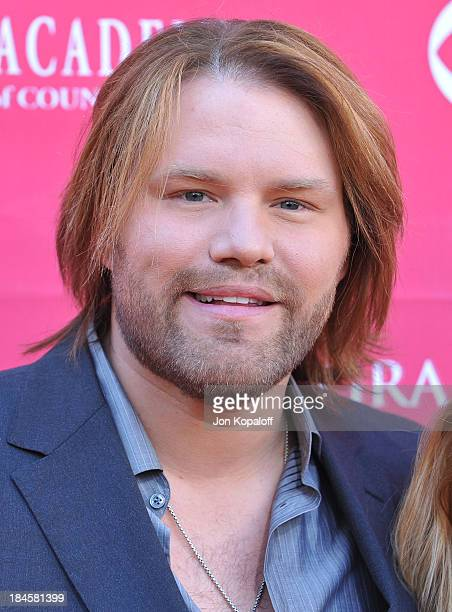 Singer James Otto arrives at the 44th Annual Academy of Country Music Awards Arrivals at the MGM Grand Arena on April 5 2009 in Las Vegas Nevada