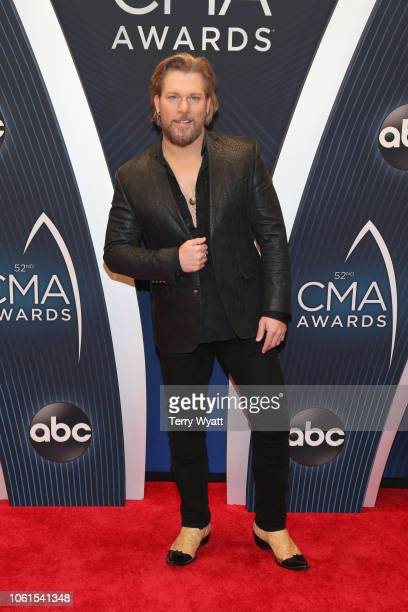 Singer James Otto attends the 52nd annual CMA Awards at the Bridgestone Arena on November 14 2018 in Nashville Tennessee