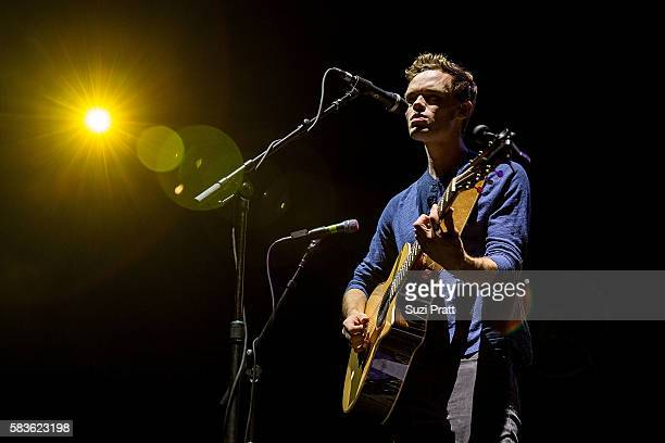 Singer James TW performs at at WaMu Theater on July 26, 2016 in Seattle, Washington.