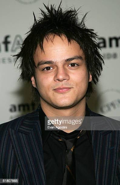Singer Jamie Cullum attends the amfAR New York Gala on November 30 2004 at The Pierre Hotel in New York City Singer and AIDS activist Patti LaBelle...