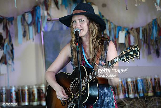 Singer Jamie Lin Wilson performs onstage at the Luck Reunion on March 18 2016 in Austin Texas