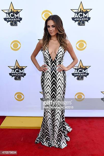 Singer Jana Kramer attends the 50th Academy of Country Music Awards at AT&T Stadium on April 19, 2015 in Arlington, Texas.