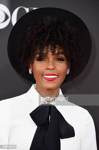 Singer Janelle Monae attends the 18th Annual Hollywood Film Awards at The Palladium on November 14 2014 in Hollywood California